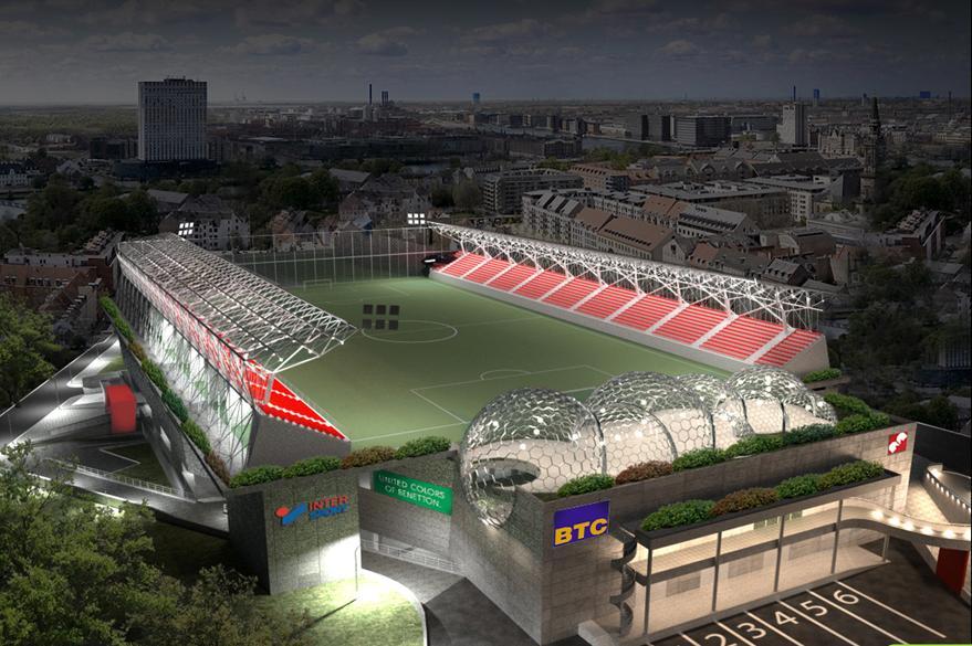 Belgrade (Vozdovac Stadion, projet).JPG