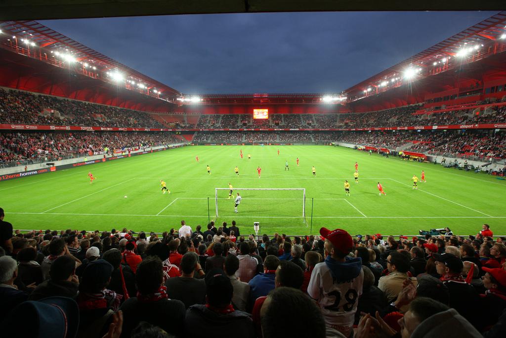 Les nouveaux stades en france