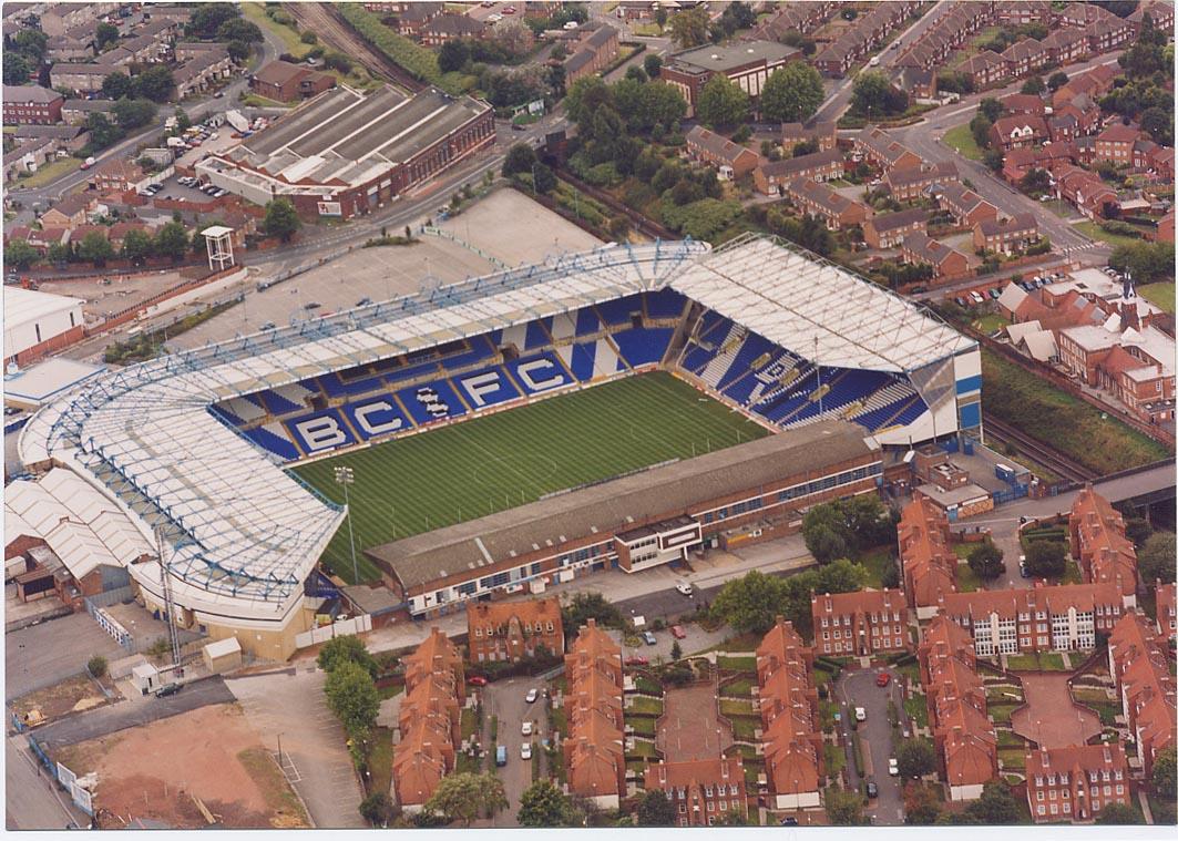 St Andrews Birmingham City Football Club