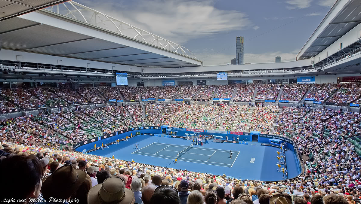 Rod Laver Arena - Info-stades Pictures Of Courts