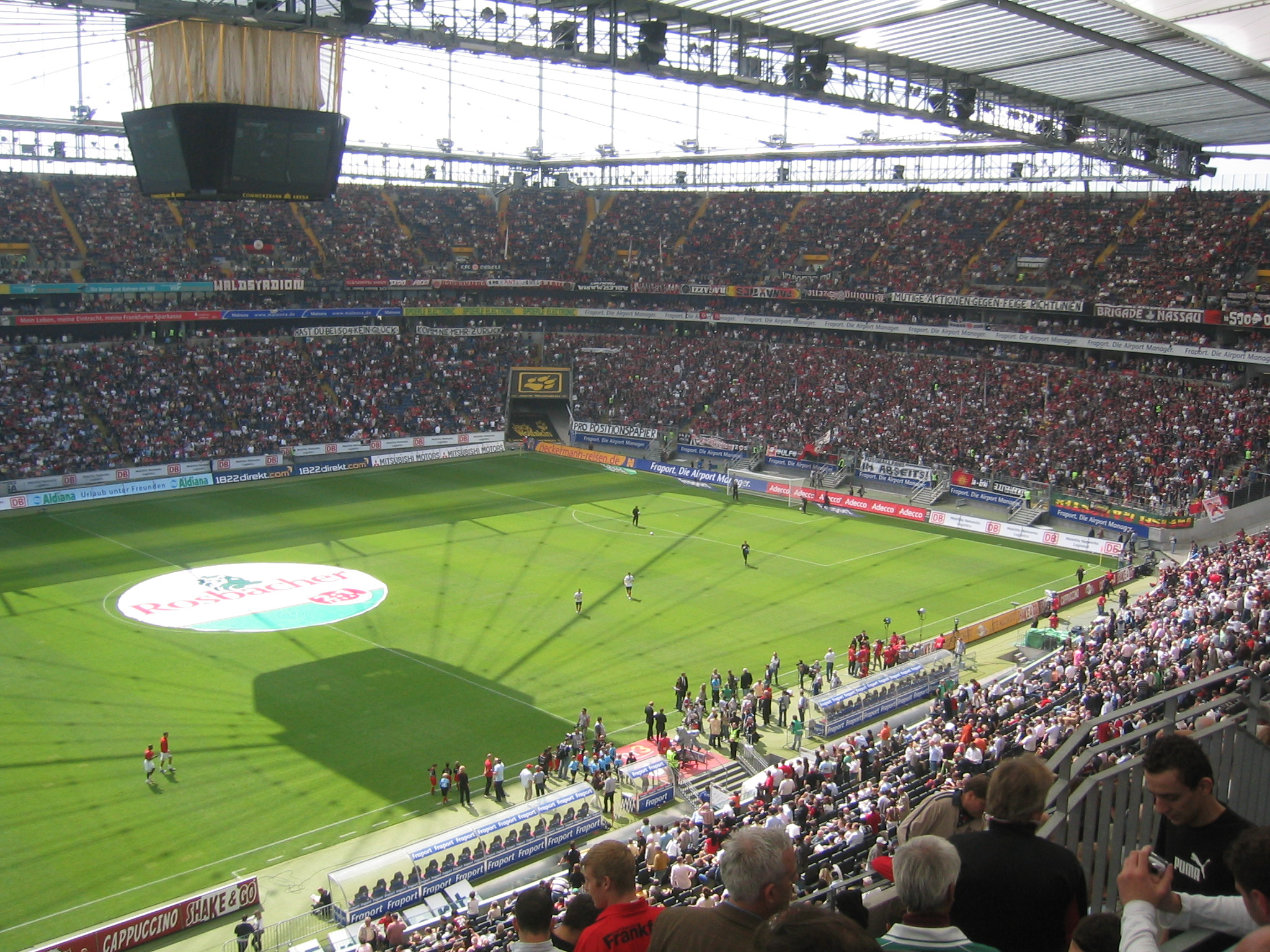 Frankfurt Stadion Adresse