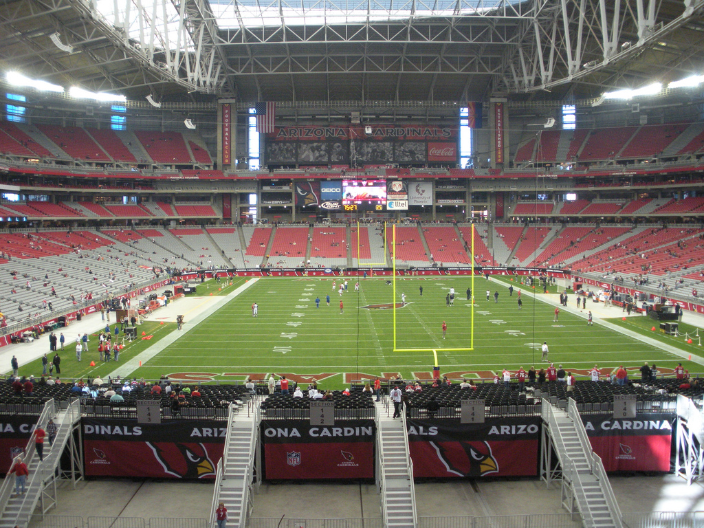 University of phoenix stadium info stades for The glendale
