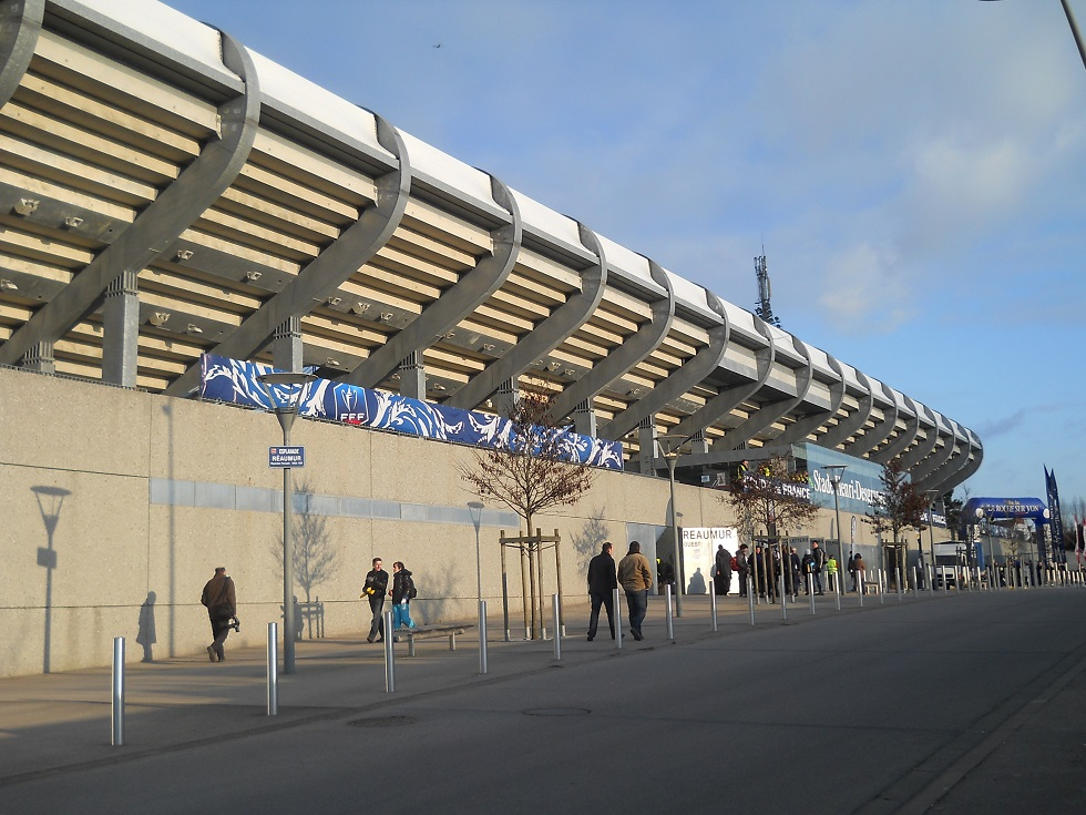 Stade henri desgrange info stades for Garage phelippeau la roche sur yon