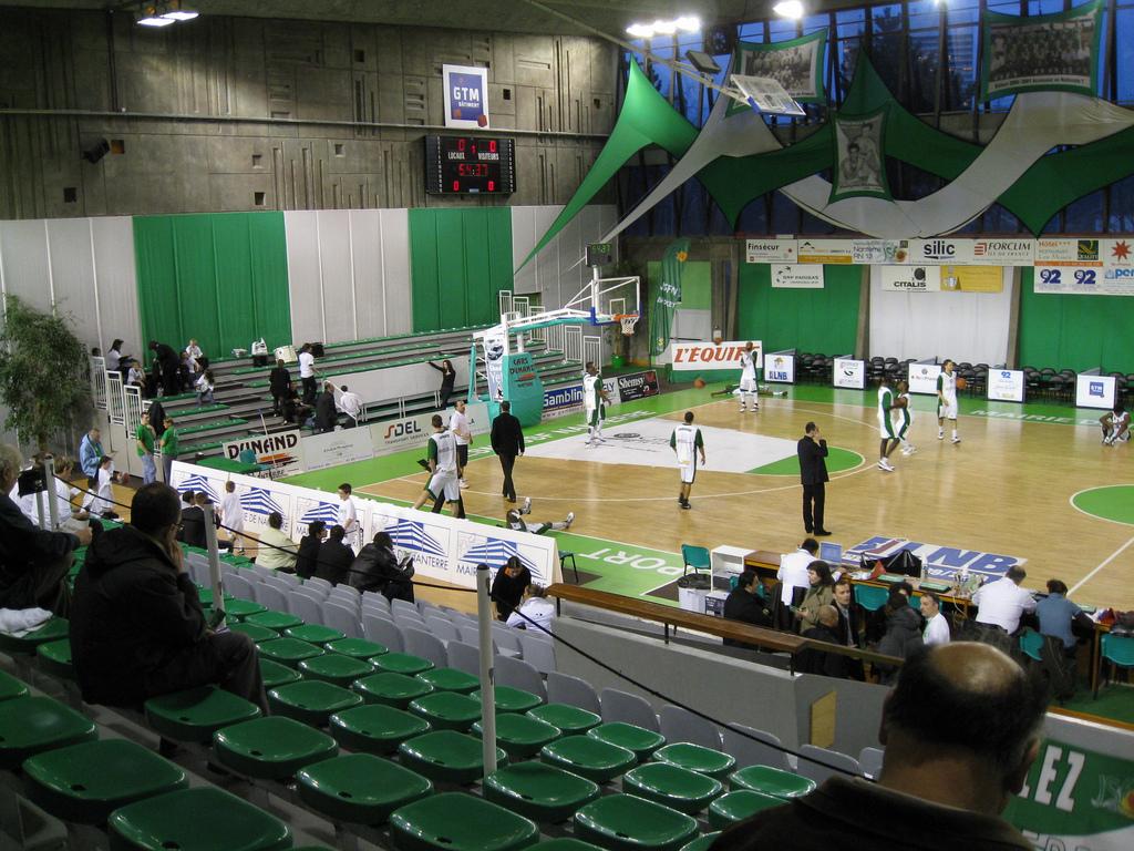 nanterre palais des sports 1 499 gt 3 000 jsf basket pro a b