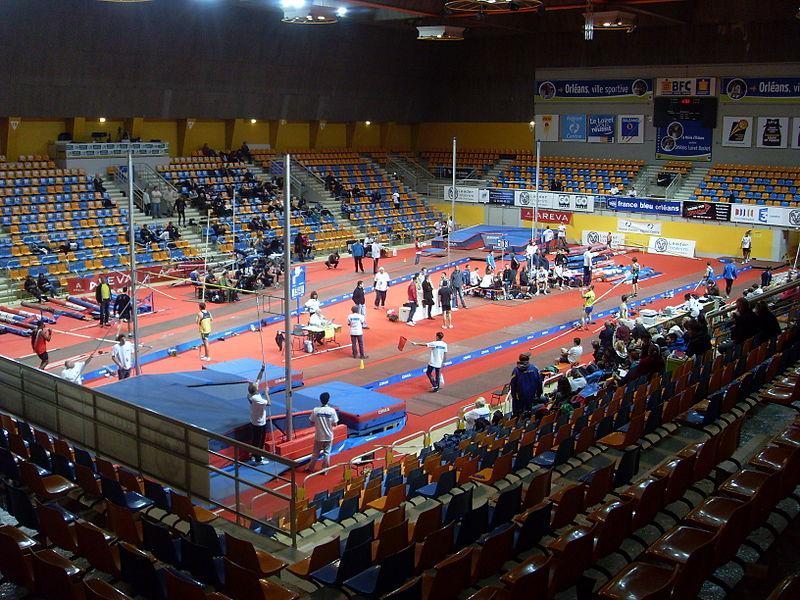 Palais des sports info stades for Club piscine orleans