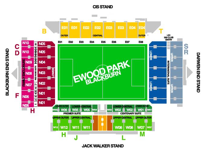 Ewood Park Info Stades