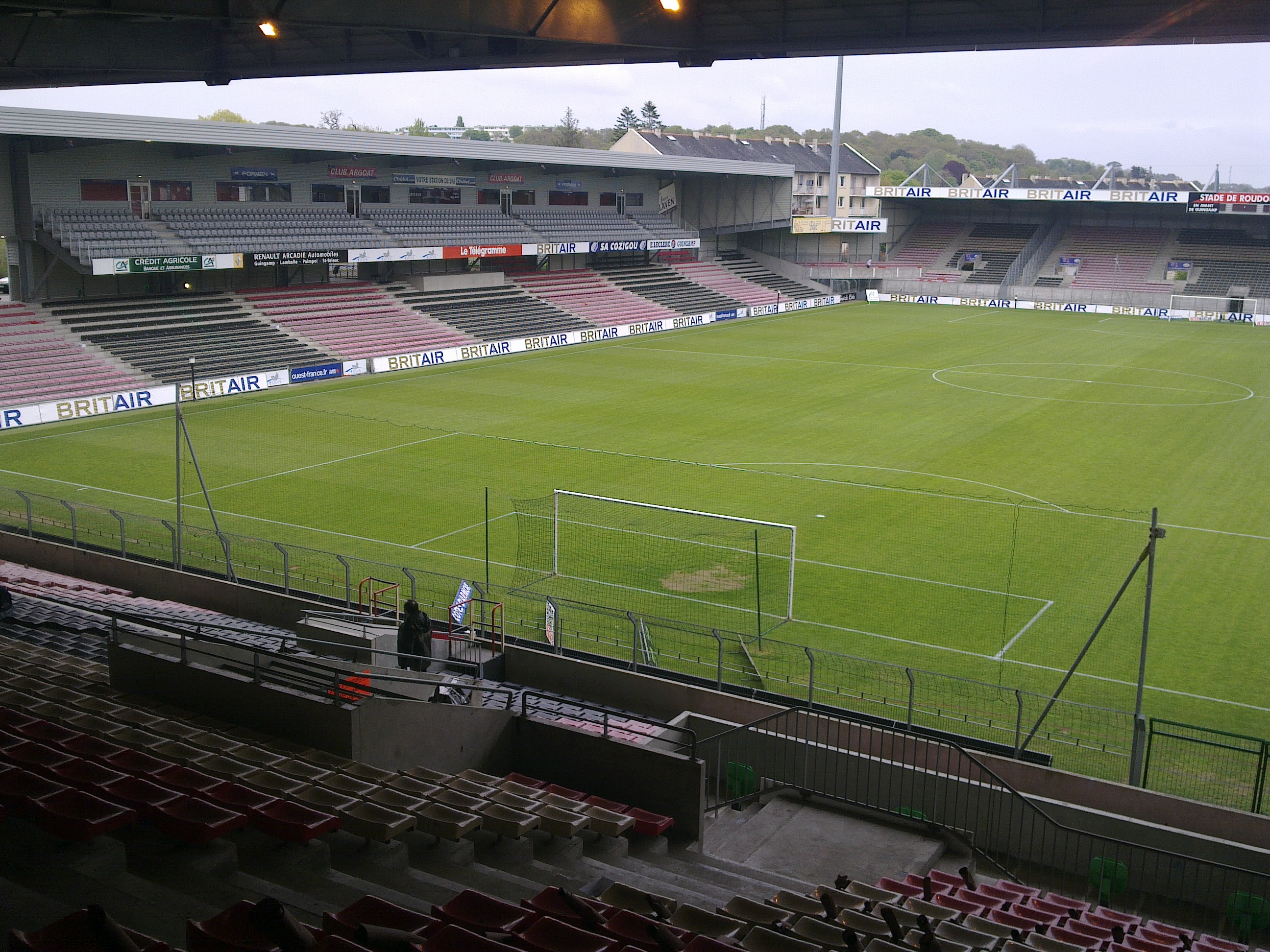 Stade du Roudourou - Info-stades