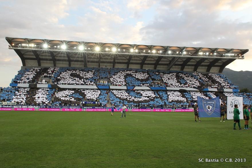 Info Stades Sc Bastia Valenciennes Fc