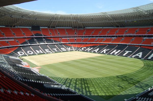 ملعب (ملعب دونباس أرينا ) في اوكرانينا تقارير ع نالملاعب التي ستحتضن مباريات كأس الأمم الأوروبية 25